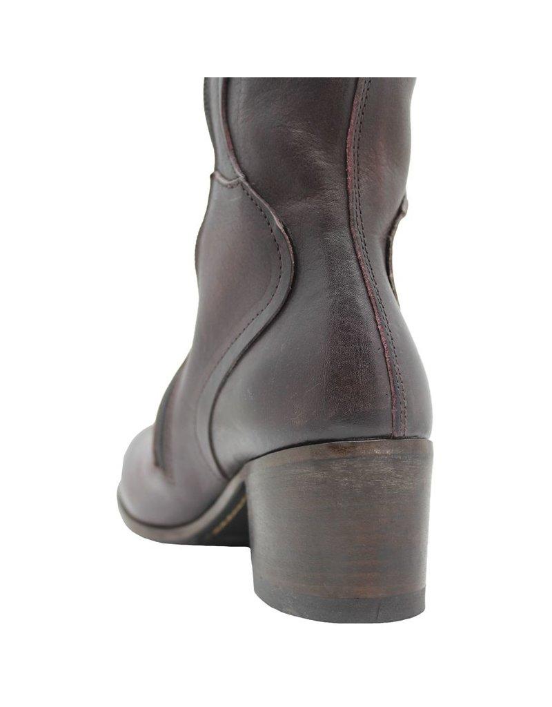 Moma Moma Bordo Knee Boot 2604