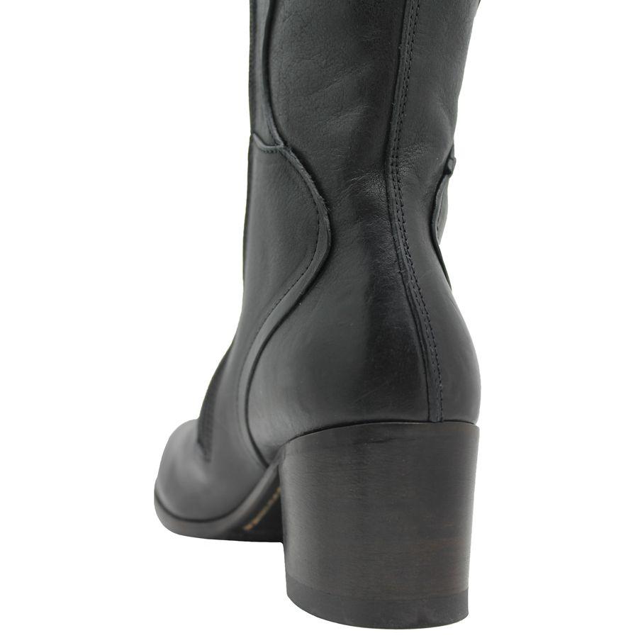 Moma Moma Black Knee Boot 2604