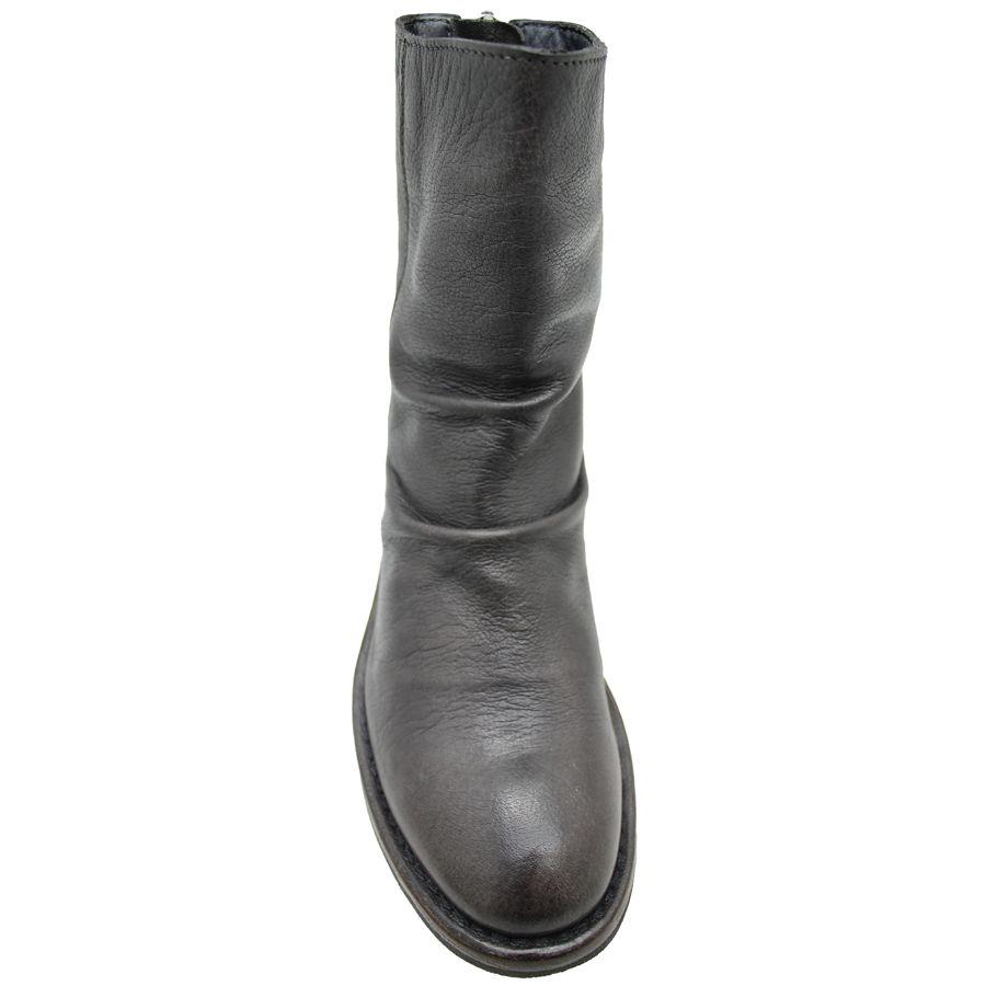 Moma Moma Grey Back Zipper Boot 2606
