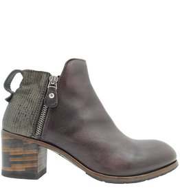 Moma Moma Bordo 2-Zipper Ankle Boot 2603