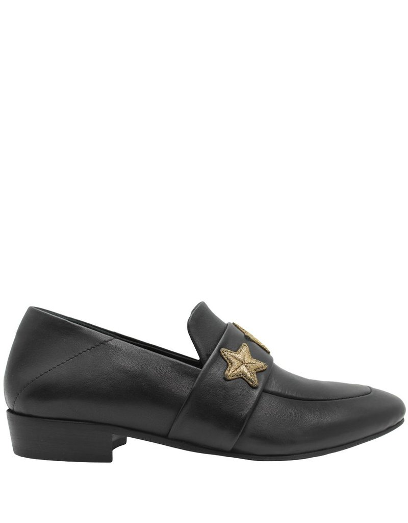 Elena Iachi ElenaIachi Black Star Loafer 1103