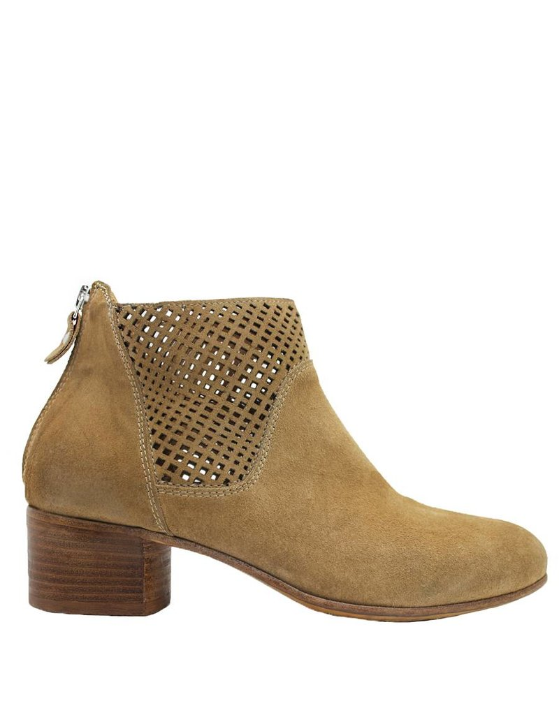 Moma Moma  Tobacco Laser Ankle Boot 3976