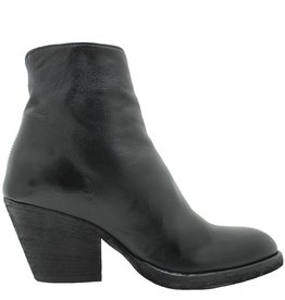 Officine Creative OfficineCreative Black Pointed Toe Side Zipper Boot Carr