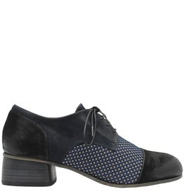 Ink INK Blue Black Multi Texture Oxford 1416