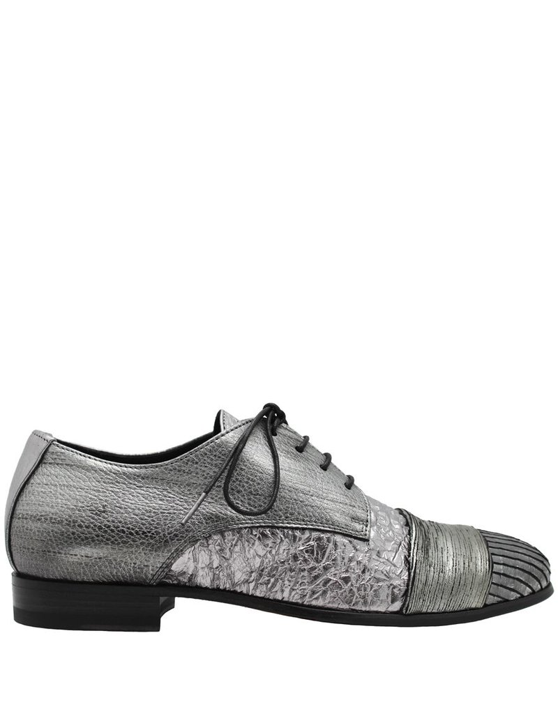 Ink INK Silver Multi Oxford 1417