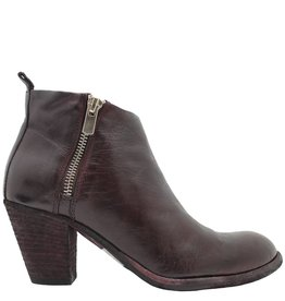 Officine Creative OfficineCreative Wine 2-Zipper Ankle Boot Luck
