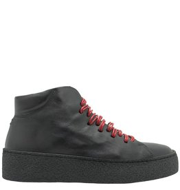 Halmanera Halmanera Black Lace-Up Tennis Allen