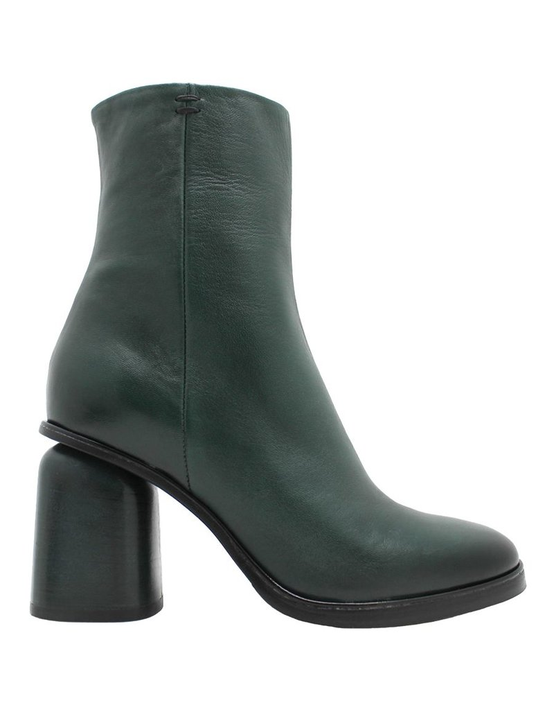Halmanera Halmanera Green Mid-Calf Boot Side Zip Hollins