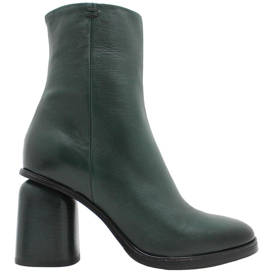 Halmanera Halmanera Green Mid-Calf Boot Side Zip Hollins