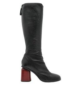 Halmanera Halmanera Red High Heel Knee Boot Jones
