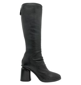 Halmanera Halmanera Black Knee Boot High Heel Jones