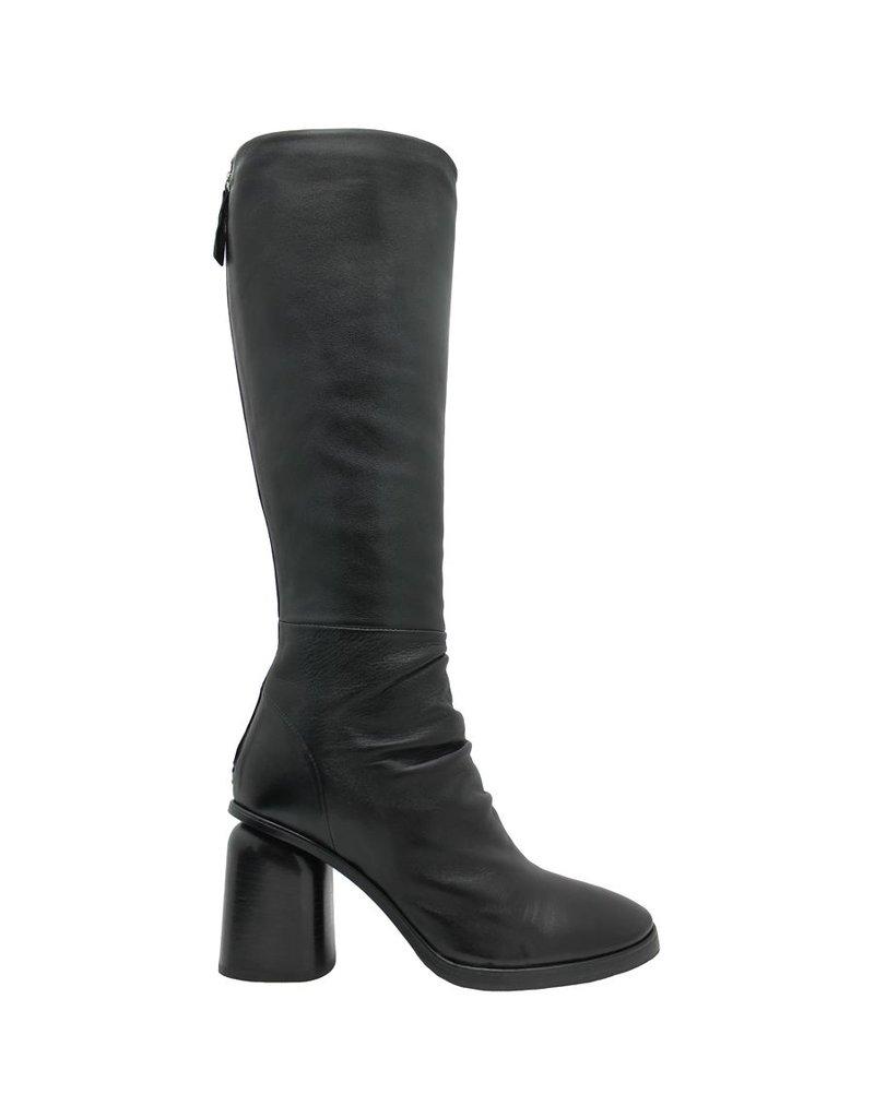 Halmanera Halmanera Black Knee Boot High Heel Jones
