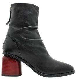 Halmanera Halmanera Black Square Toe Red Heel Mills