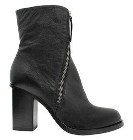 Halmanera Halmanera Black Asymmetric Zipper Ankle Boot Wentz