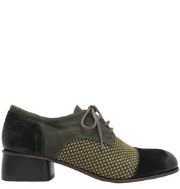 Ink INK Green Multi Texture Oxford 1416