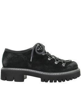 Now Now Black Suede Hiker Shoe 3936