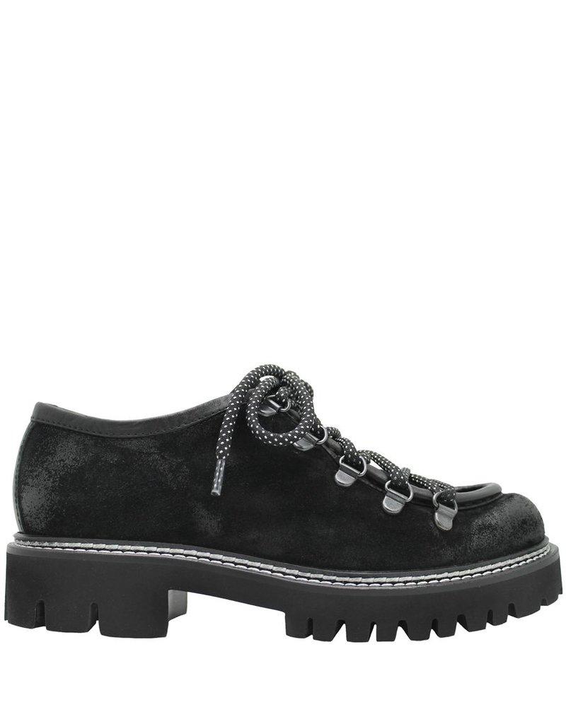 Now Now Black Suede Hiker Shoe 3936