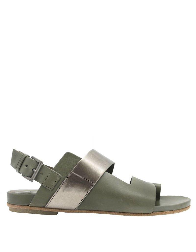 VicMatie VicMatie Army Asymmetric Flat Sandal 5376