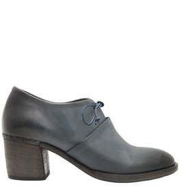 Del Carlo DelCarlo Blue Block Heel Lace-Up 4090
