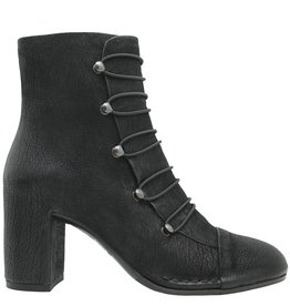 Del Carlo DelCarlo Black Military Boot With Hooks 4210