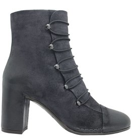 Del Carlo DelCarlo Dark Blue Military Boot With Hooks 4210