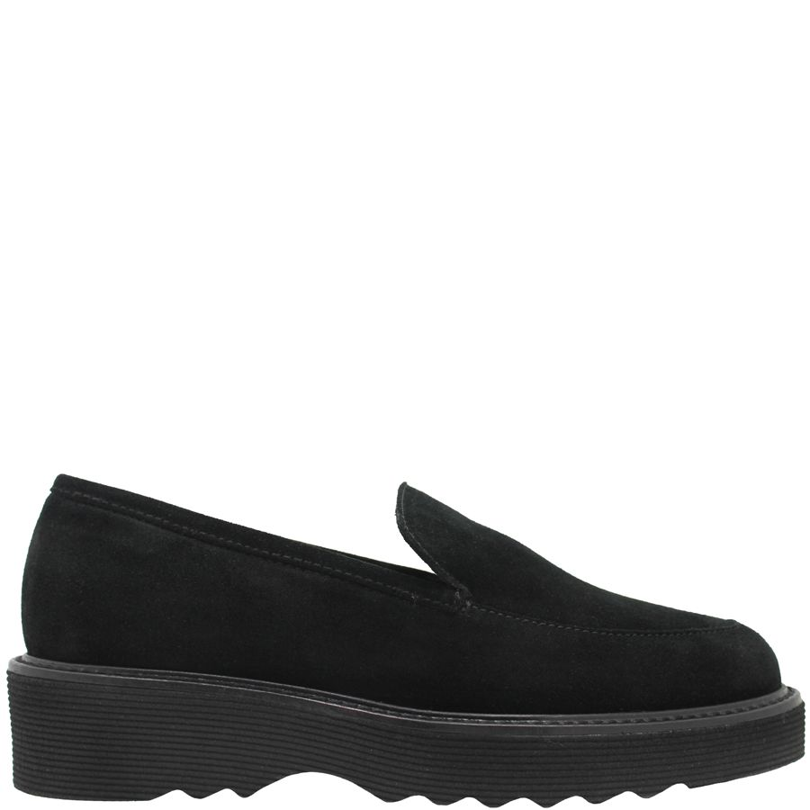 Aquatalia Aquatalia Black Suede Waterproof Loafer Kelsey