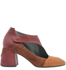 Ixos Ixos Brandy Suede Multi MaryJane Square Toe 1016