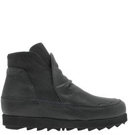 Ixos Ixos Black Rubber Bottom Boot 1023