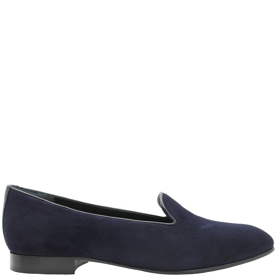 Siton Siton Blue Suede Slip-On Loafer 1071