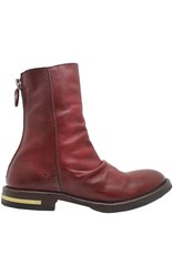 Moma Moma Red Back Zipper Boot 2606