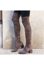 ViaRoma Iron Suede Over The Knee Boot 2319