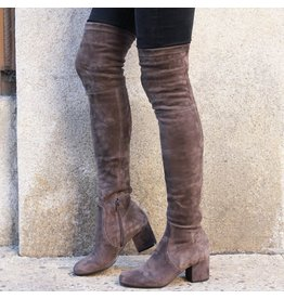ViaRoma ViaRoma Iron Suede Over The Knee Boot 2319