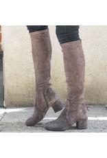 ViaRoma ViaRoma Iron Suede Low Heel Knee Boot 2347