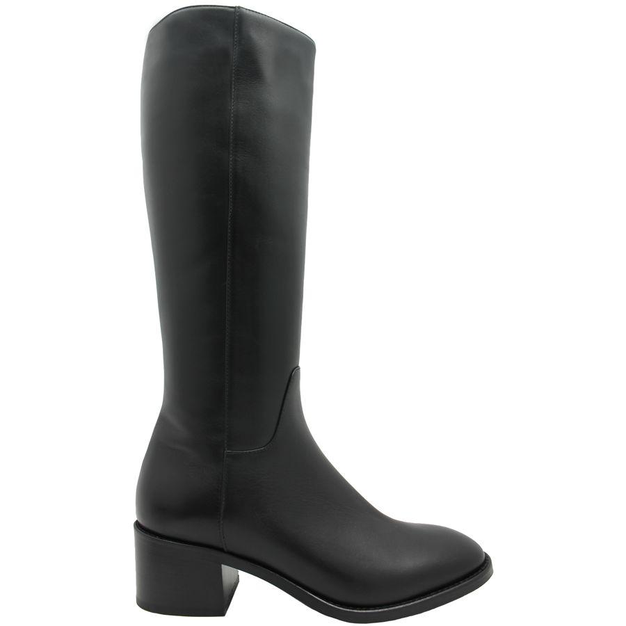 Aquatalia Aquatalia Black Calf Waterproof Knee Boot Justina