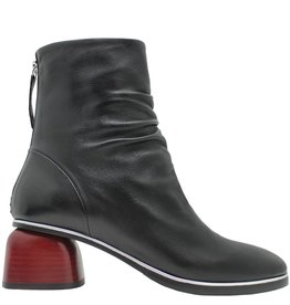 Halmanera Halmanera Black With Red Heel Back Zip Curry