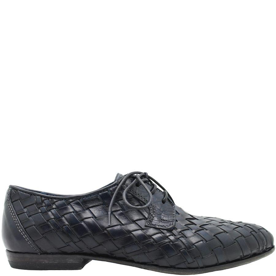 Moma Blue Woven Oxford 2565