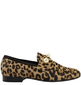 ViaRoma ViaRoma  Cheetah Printed Hair Calf Loafer 2520