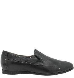 Now Now Black Slip-On Loafer With Studs 4562