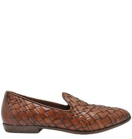 Moma Moma Camel Woven Slip-On Flat Loafer 2564