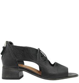 Moma Moma Black Lace Up Sandal 2568