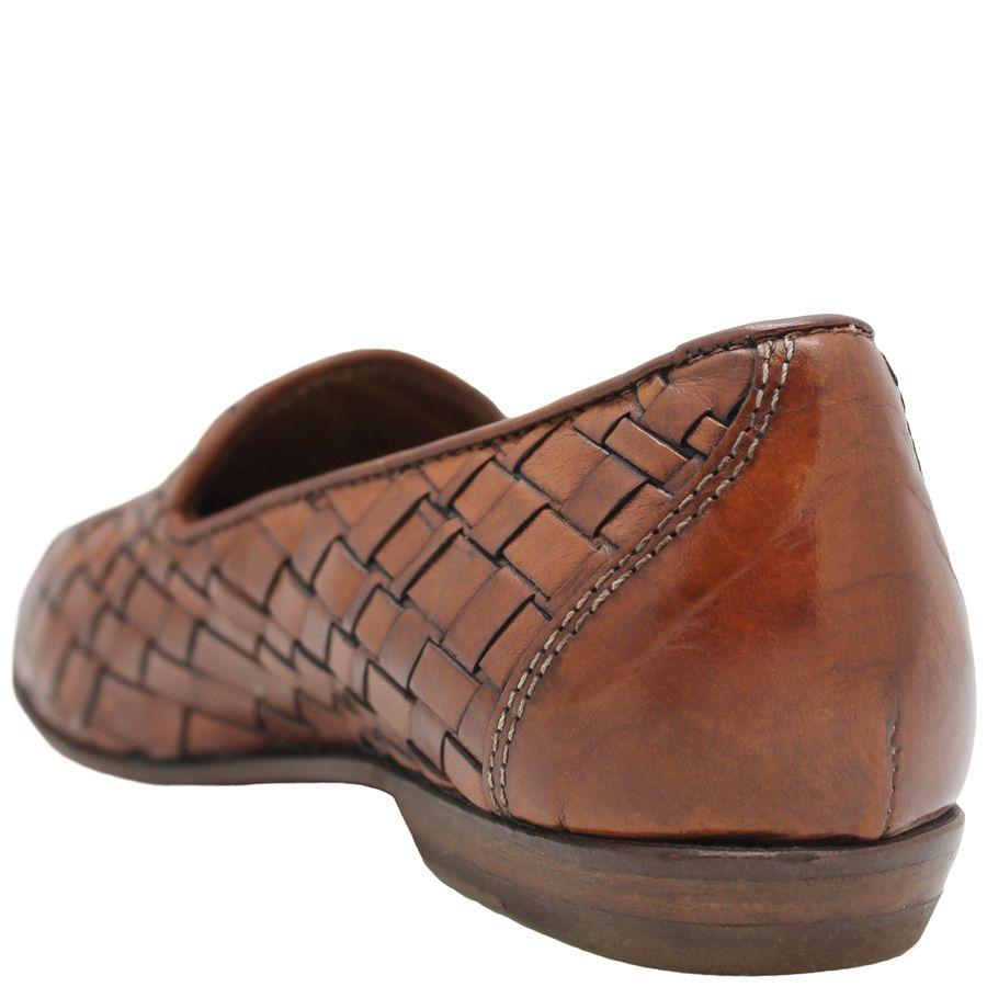 Moma Moma Camel Woven Slip-On Flat Loafer 2564