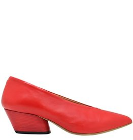 Halmanera Halmanera Red Point Toe Pump Low Heel Luna