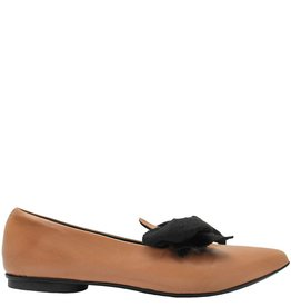 Halmanera Halmanera Foundation Loafer With Black Linen Bow Nilsa