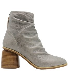 Halmanera Halmanera Anthracite Ankle Boot With Back Zipper Shani