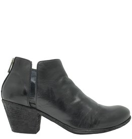 Officine Creative OfficineCreative Black Asymmetric Side Dip Boot Bates