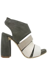 Ixos Ixos Khaki Multi Platform Sandal Luisa