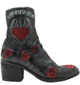 Fauzian Jeunesse FauzianJeunesse Black Embroidered Love/Hate 2054