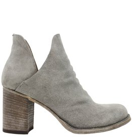 Officine Creative OfficineCreative Grey Suede Slip On With Med Heel Fanny