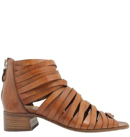 Moma Moma Camel Huarache Sandal With Back Zipper 2569
