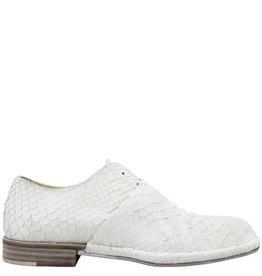Del Carlo DelCarlo White Embossed Slip-On No Lace 1010